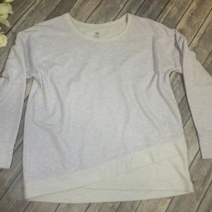 Gaiam Tulip-Hem Yoga Sweatshirt